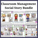 Classroom Management Social Story Bundle
