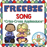"Freebie Song for Classroom Management: ""Criss-Cross Apples"