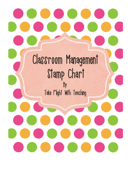 Classroom Management Stamp Chart