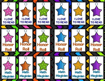 Classroom Management: Star Themed Classroom Money and More