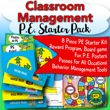 Classroom Management Starter Pack for Physical Education Teachers