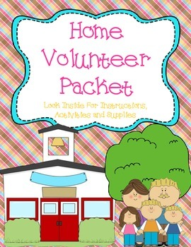 Classroom Management: Starter Packet for Parent Volunteers