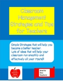 Classroom Management Strategies and Tips for Teachers