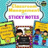 Classroom Management Strategy Sticky Notes