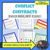 Classroom Management - Student Behavior and Conflict Contracts