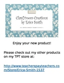 Classroom Management - Student Point Sheets