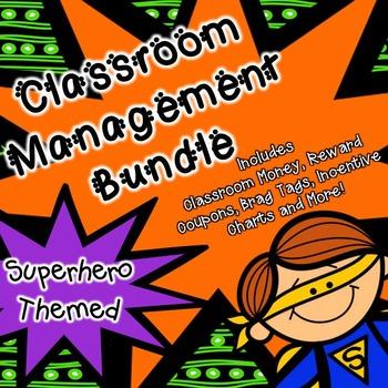 Classroom Management (SuperHero Theme) Classroom Money,Rew