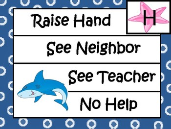 Classroom Management System -C.H.A.M.P.S. Positive Behavior System