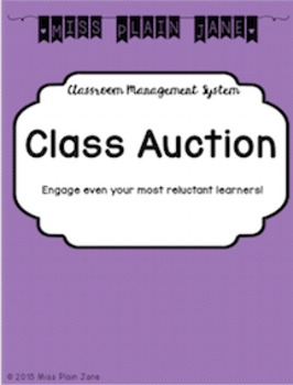 Classroom Management System: Class Auction