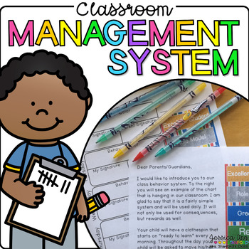 Classroom Management System - Behavior Clip Chart, Voice Level, & Rewards