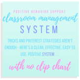 Classroom Management System (Positive Behavior Support- No