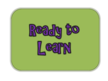 Classroom Management System Signs