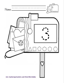 Classroom Management: Teaching Cubby Mailbox Numbers