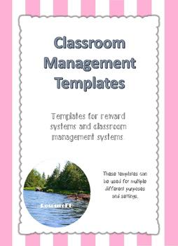 Classroom Management Templates