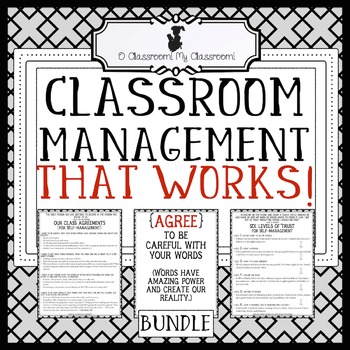 Classroom Management That Works! - Four Agreements and Six Levels of Trust