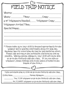 Classroom Management Time Saver! - Generic Classroom Notes Templates