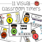 Classroom Timers:  Class Slides with Timers