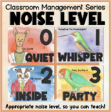 Voice Level Posters - Classroom Management Tips