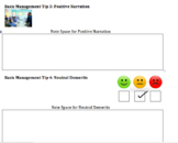 Classroom Management Tips - Powerpoint, Notes, Handouts