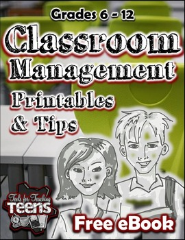 Classroom Management Tips and Printables Ebook