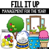 Classroom Management Tool: Fill It Up BUNDLE