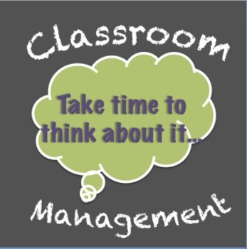 Classroom Management Tool - Think Sheet