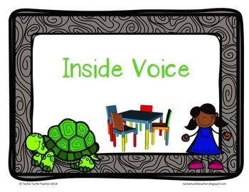 Classroom Management Tool - Turtle Noise Level Charts