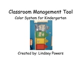 Classroom Management Tool for Kindergarten