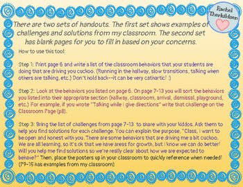 Classroom Management Tool to Help With Ongoing Behavior Problems