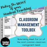 Classroom Management Toolbox