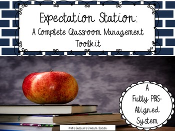 Classroom Management Toolkit - PBIS-Aligned (Cool Colors Theme)