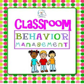 Classroom Management Tools | Back to School Classroom Behavior Management Tools