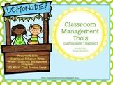 Classroom Management Tools-Lemonade Themed