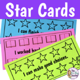 Classroom Management Strategies Star Cards