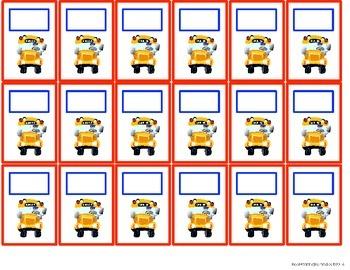Classroom Management- Transportation Organization Pocket Chart/ Bulletin Board
