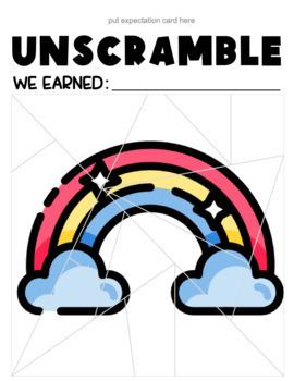 Classroom Management Unscramble | Game | Plan