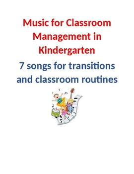 Classroom Management Using Music for Kindergarten