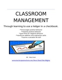 Classroom Management--Using banking to promote positive behaviors