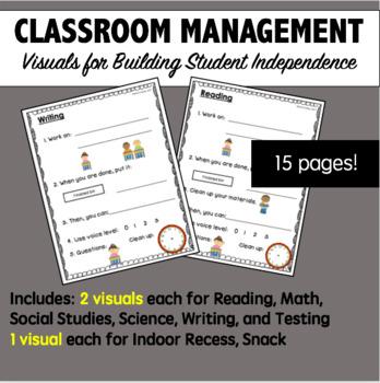 Classroom Management Visuals