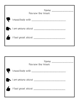 Classroom Management Visuals and Forms