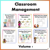 Classroom Management Volume 1 Bundle