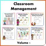Classroom Management Volume 1 Bundle