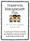 Classroom Management and Behavior Plan Five Love Languages