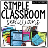 Classroom Management and Organization | Back to School BUNDLE