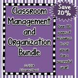 CLASSROOM MANAGEMENT: Behavior Management & Classroom Orga