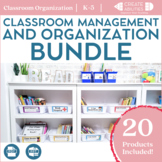 Classroom Organization and Management Bundle