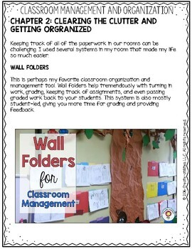 Classroom Management and Organization eBook: From Chaos to Confidence