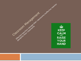 Classroom Management by Harry Wong Powerpoint
