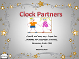 Classroom Management for Cooperative Learning- Clock Partners