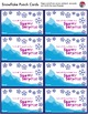 HOLIDAY REWARD SYSTEM - Snowflake Punch Cards